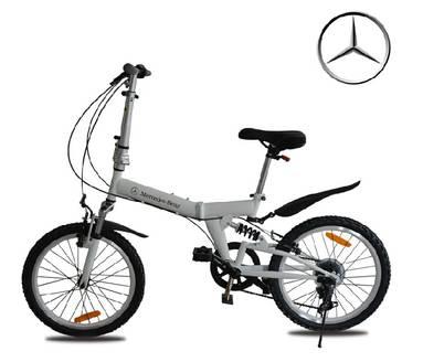第二名:奔驰折叠自行车